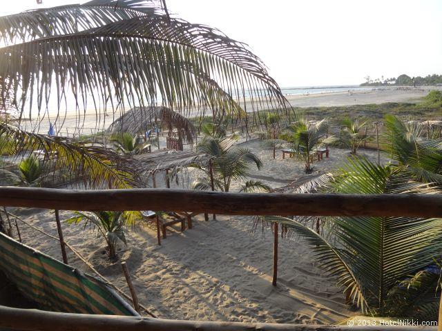 ゴアン カフェ アンド リゾート ゴア、ツリーハウスからの眺め