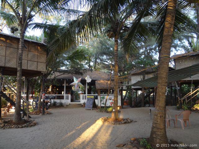 ゴアン カフェ アンド リゾート ゴア、敷地内