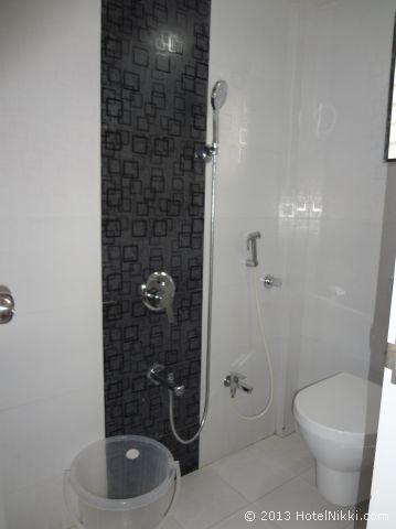 P.A. レジデンシー ムンバイ、シャワー・トイレ