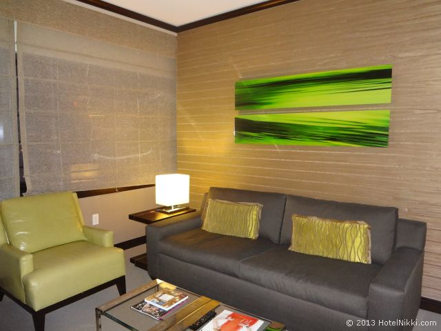 ヴィダラ ホテル & スパ ラスベガス リビングエリア