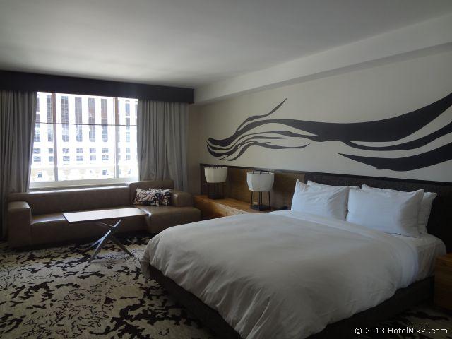 ノブ ホテル アット シーザーズ パレス、ノブデラックスキングルーム