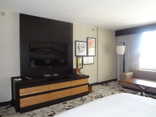 ノブ ホテル アット シーザーズ パレス、テレビ