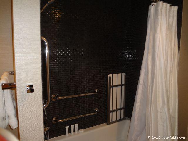 ノブ ホテル アット シーザーズ パレス、お風呂はバスタブあり