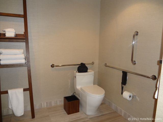 ノブ ホテル アット シーザーズ パレス、トイレ