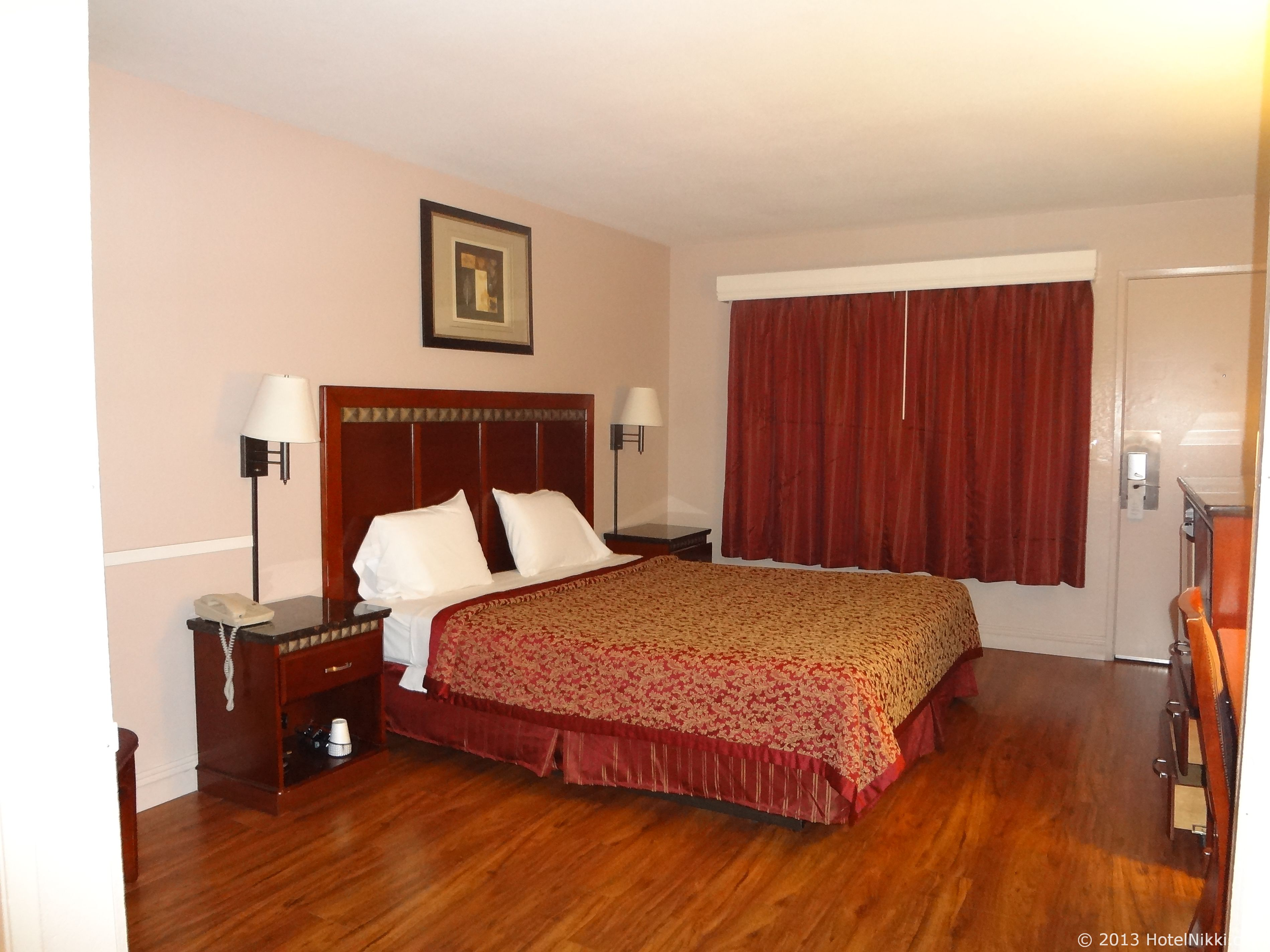 Knights Inn Anaheim 客室