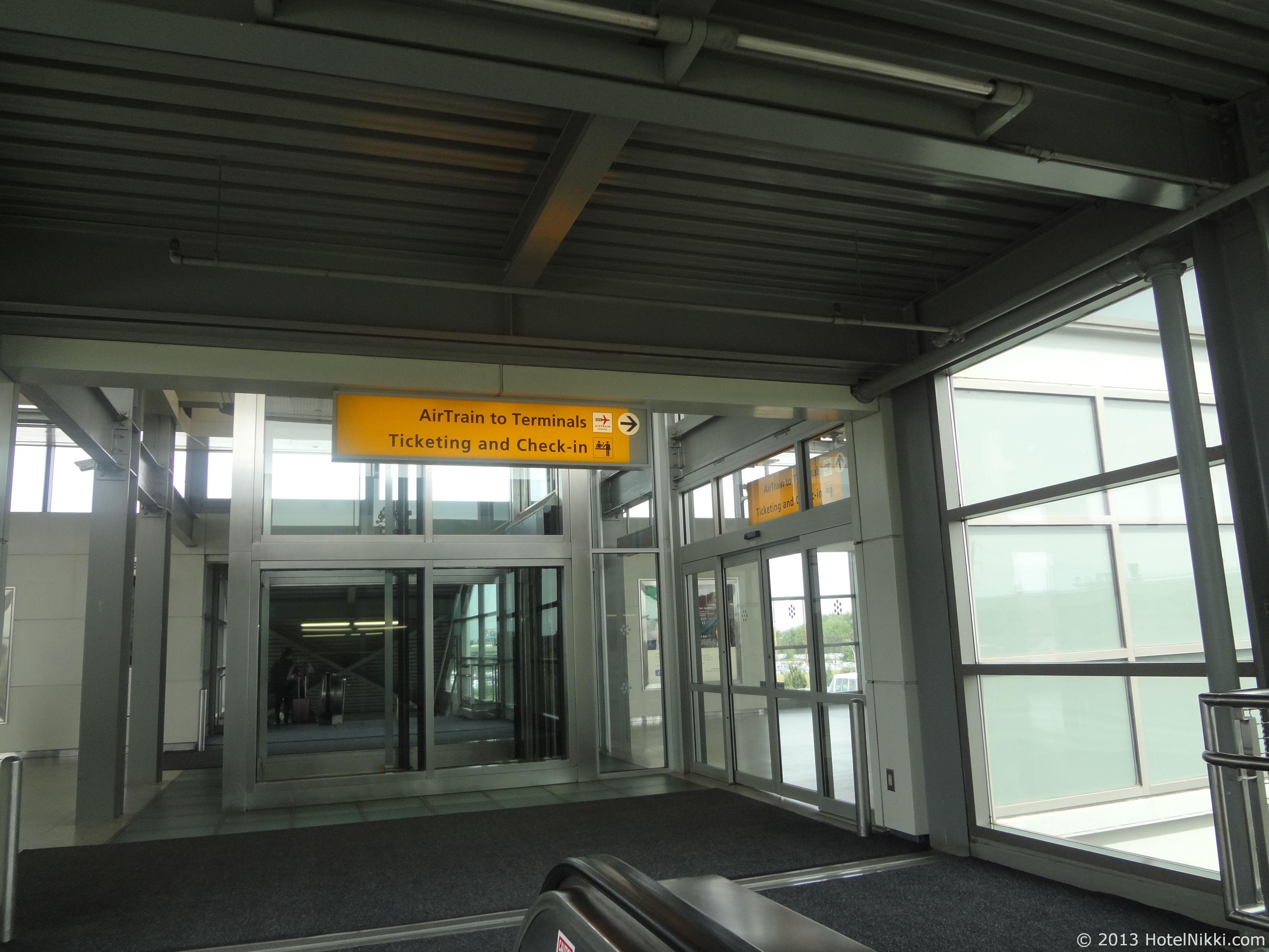 フィラデルフィア日帰り旅行 ニューアーク国際空港駅