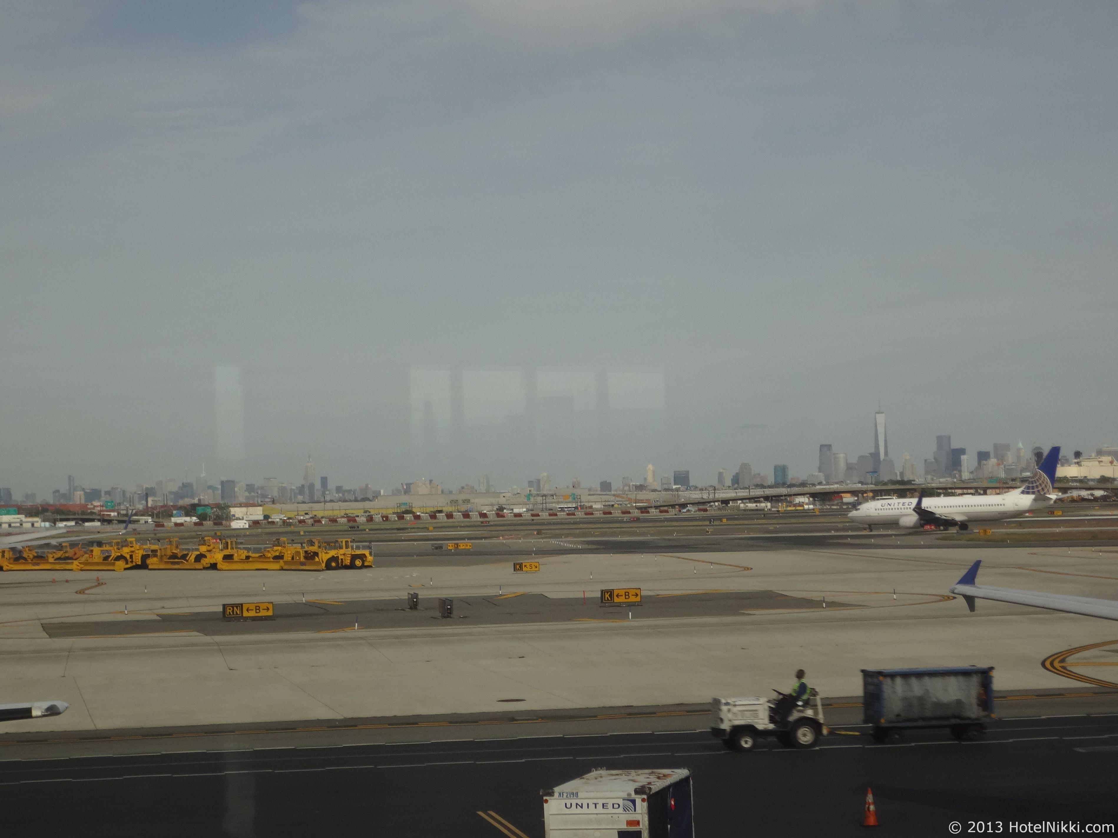 フィラデルフィア日帰り旅行 ニューアーク国際空港