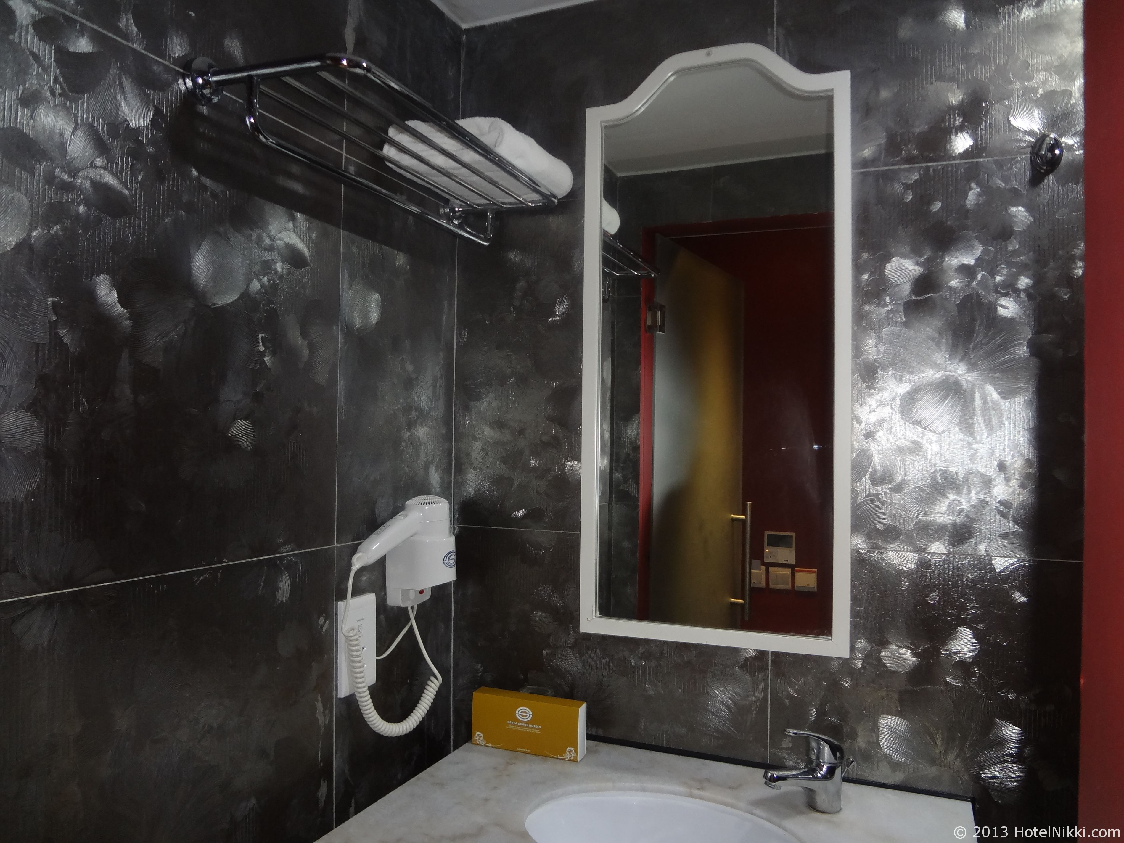 サンタ グランド ホテル ライ チュン エン バスルーム、洗面