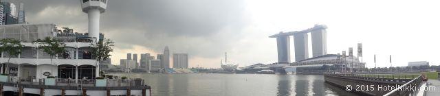 シンガポール・パノラマ写真(2013年10月撮影)