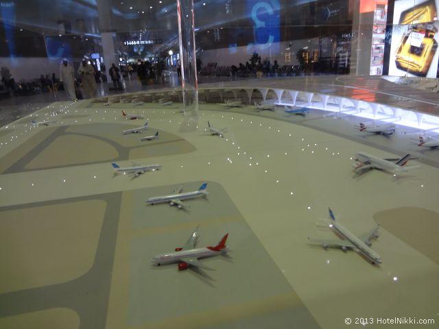 クウェート空港、未来の空港模型?