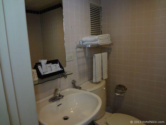 ダーシンホテル バスルーム