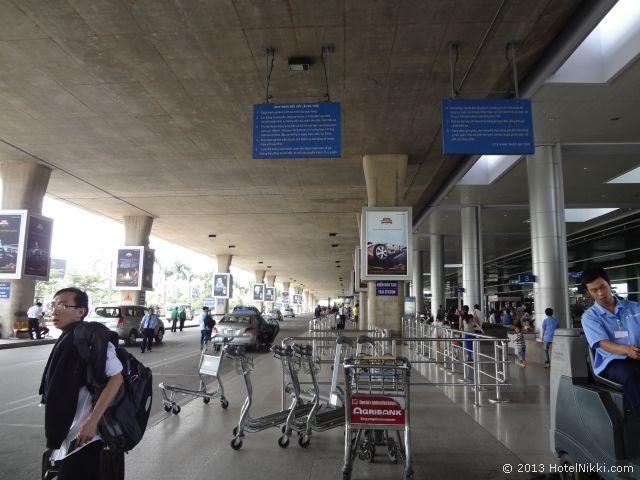 ホーチミンシティ、2013年12月 空港