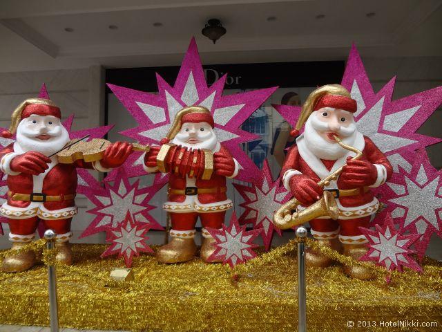 ホーチミンシティ、2013年12月 クリスマスデコレーションで街はあふれています