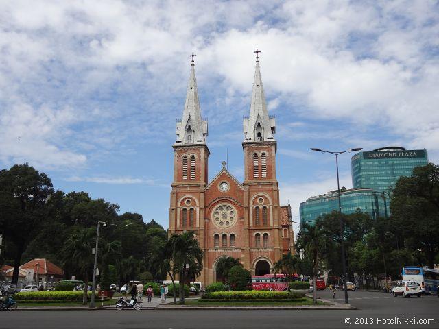 ホーチミンシティ、2013年12月 サイゴン大教会