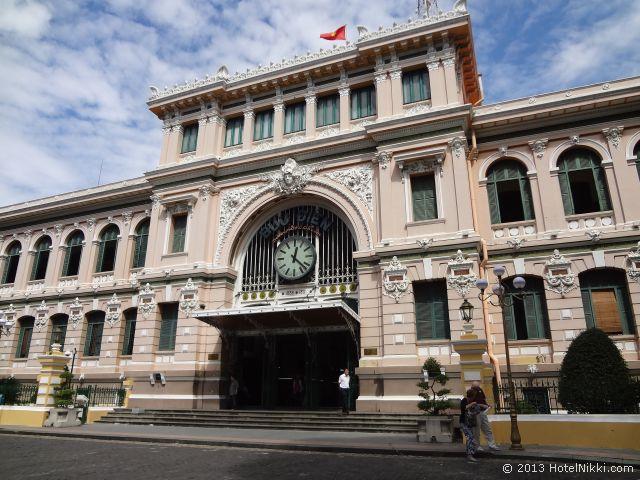 ホーチミンシティ、2013年12月 サイゴン中央郵便局