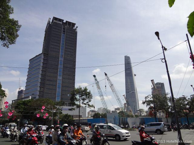 ホーチミンシティ、2013年12月 高層ビルが増えてきました