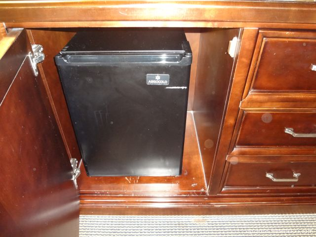 シェラトンパークホテル アナハイムリゾート 冷蔵庫