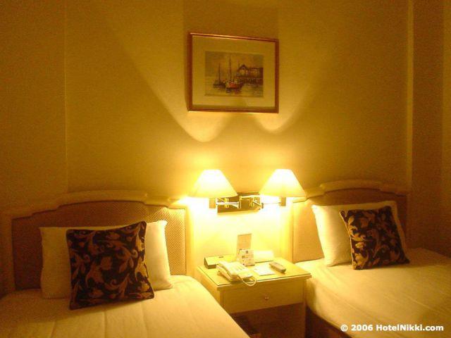 クオリティホテルシンガポール 客室