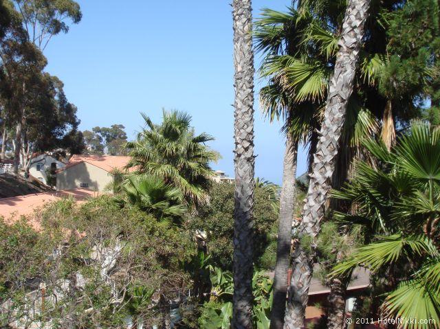 カタリナ キャニオン リゾート アンド スパ バルコニーからの眺め