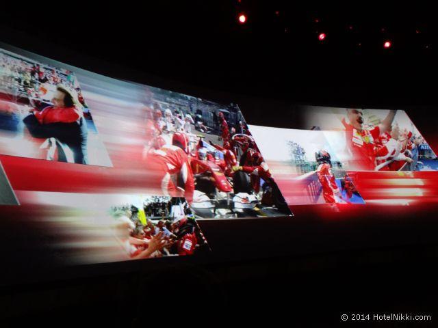 フェラーリワールド フェラーリの歴史を体験できるライド