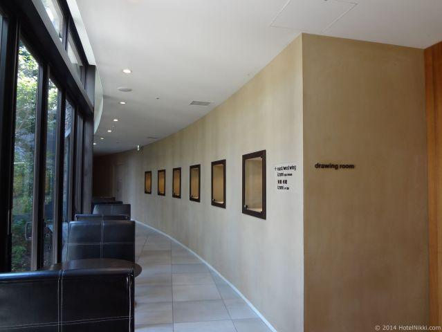 ハイアット リージェンシー 箱根 リゾート&スパ、ホテル内廊下