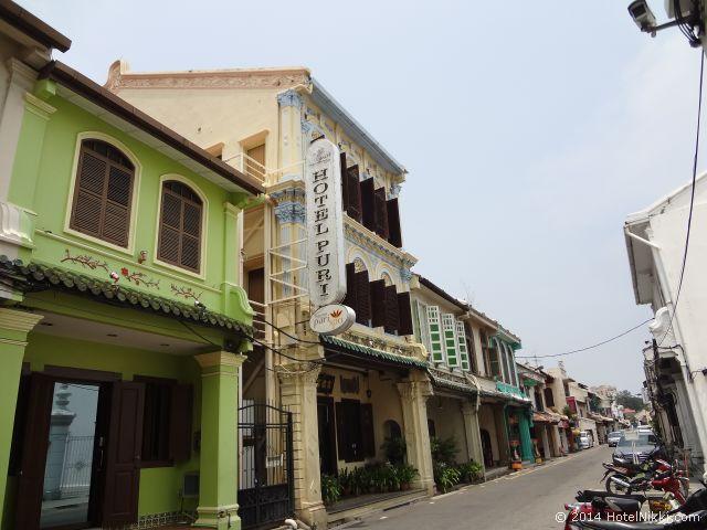 マレーシア・マラッカ、ジョンカー周辺 宿泊したホテルプリ