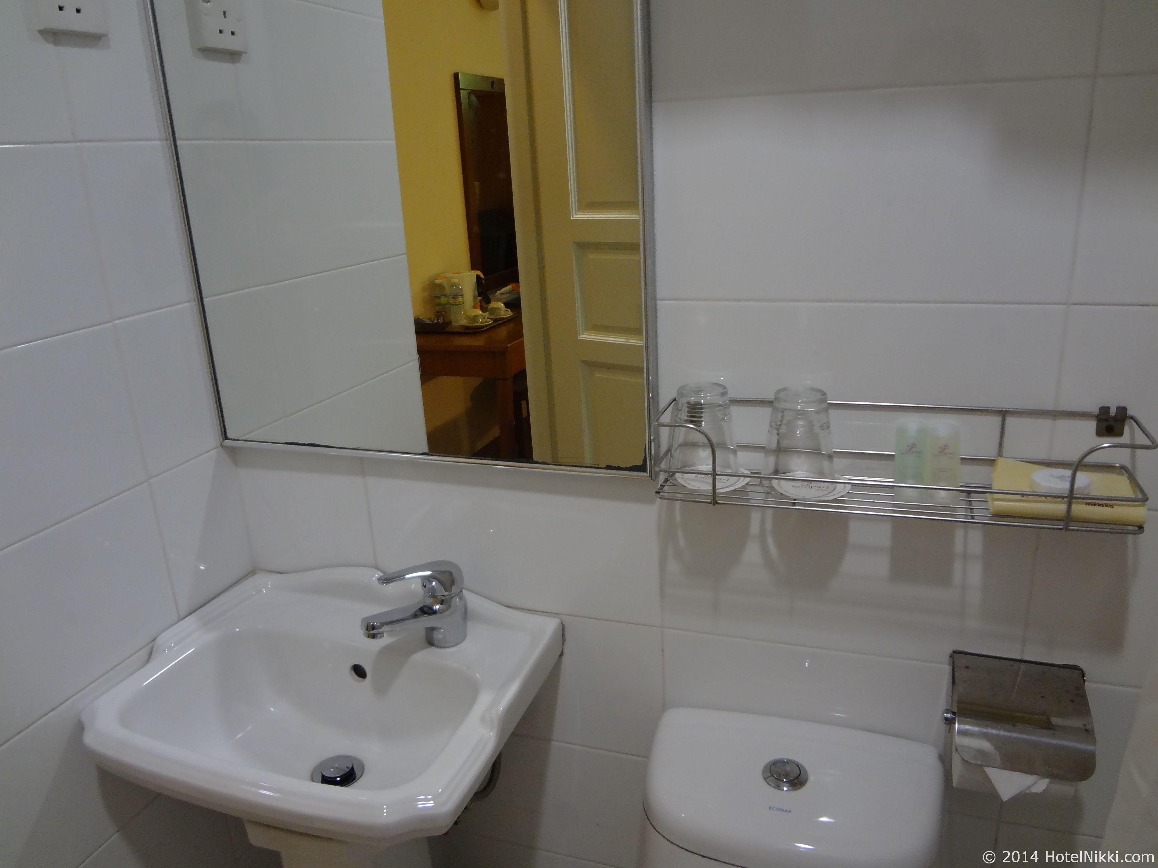 ホテルプリマラッカ バスルーム