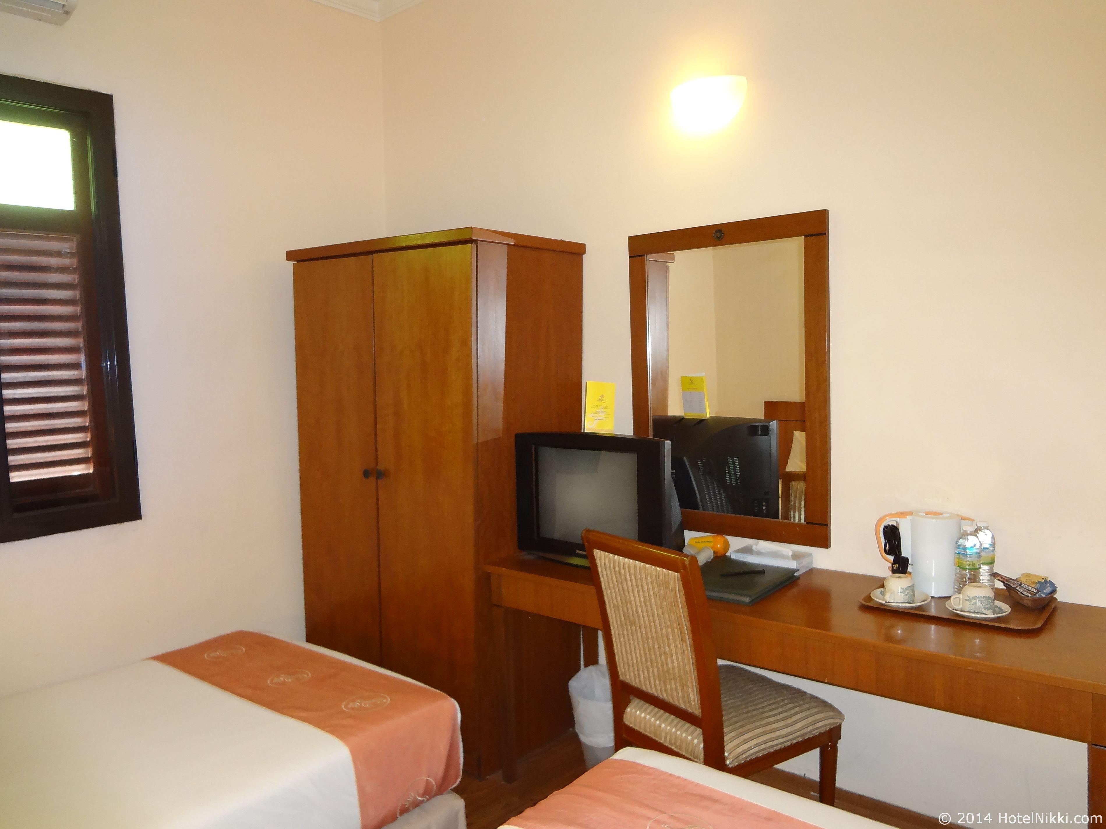 ホテルプリマラッカ 客室