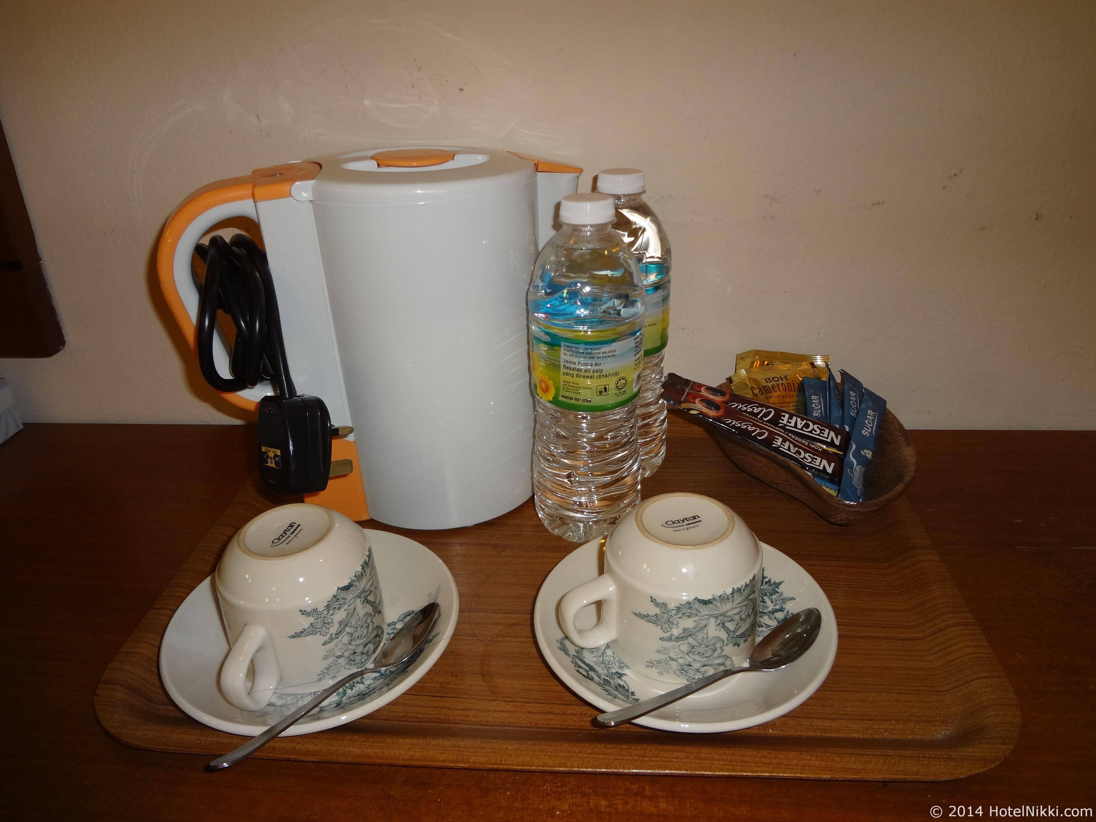 ホテルプリマラッカ コーヒーとお茶