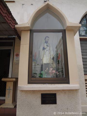 マラッカ写真旅行記2014年3月 フランシスコザビエル教会