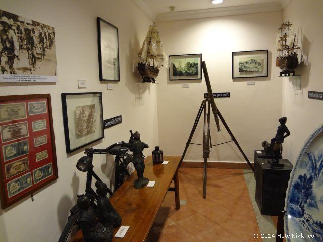 2014年3月、マレーシア・マラッカ写真旅行記 ホテルプリの展示室