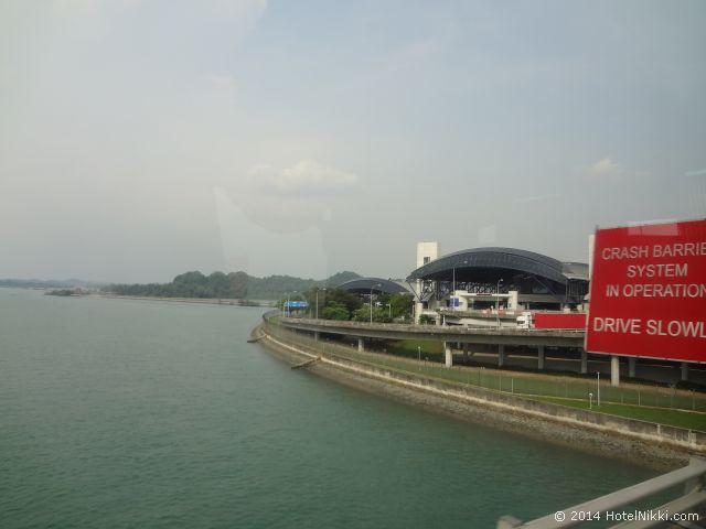 2014年3月、マレーシア・マラッカ写真旅行記 シンガポールはもうすぐです
