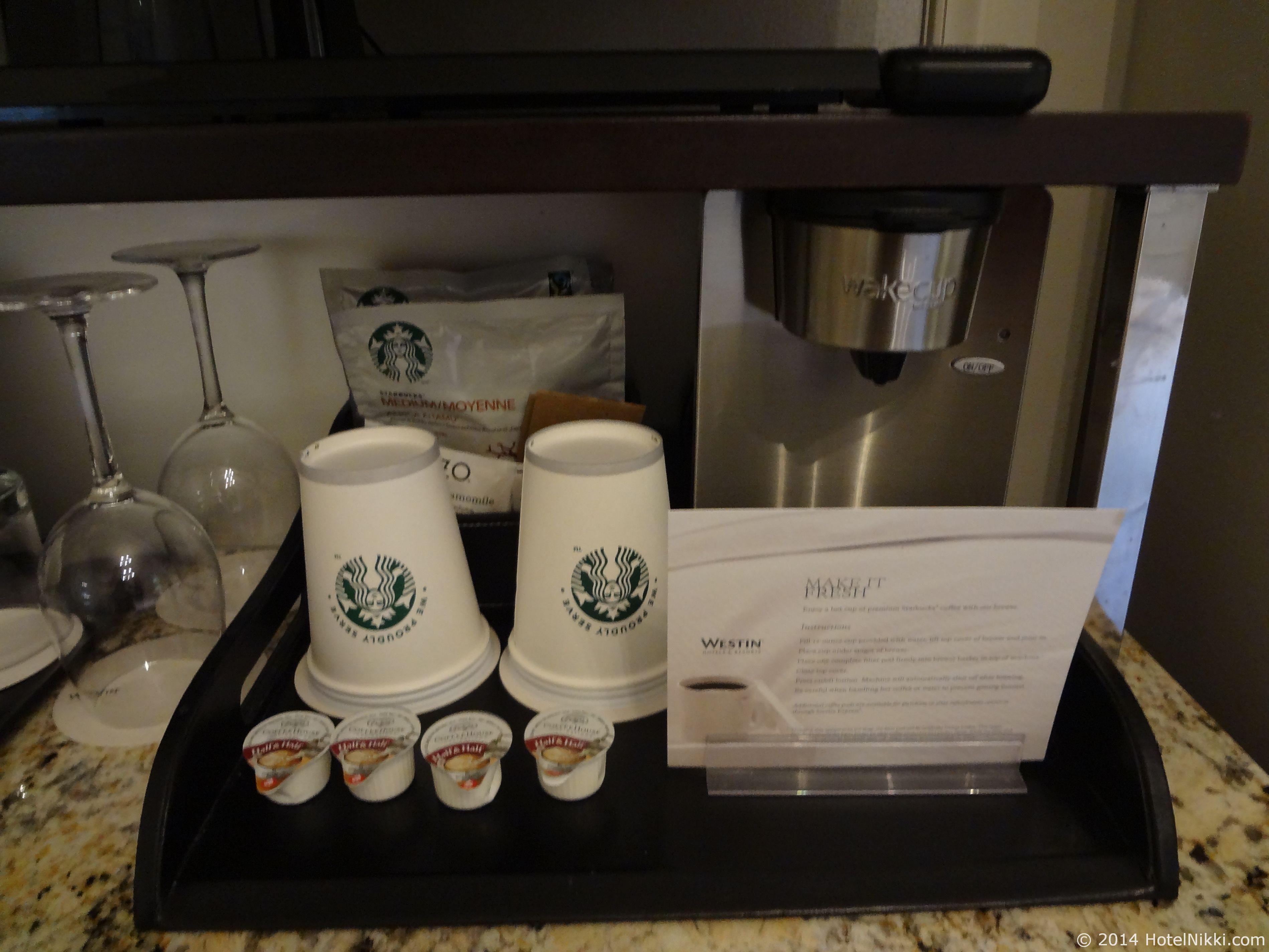 ウェスティン・セント・フランシス スターバックスのコーヒー
