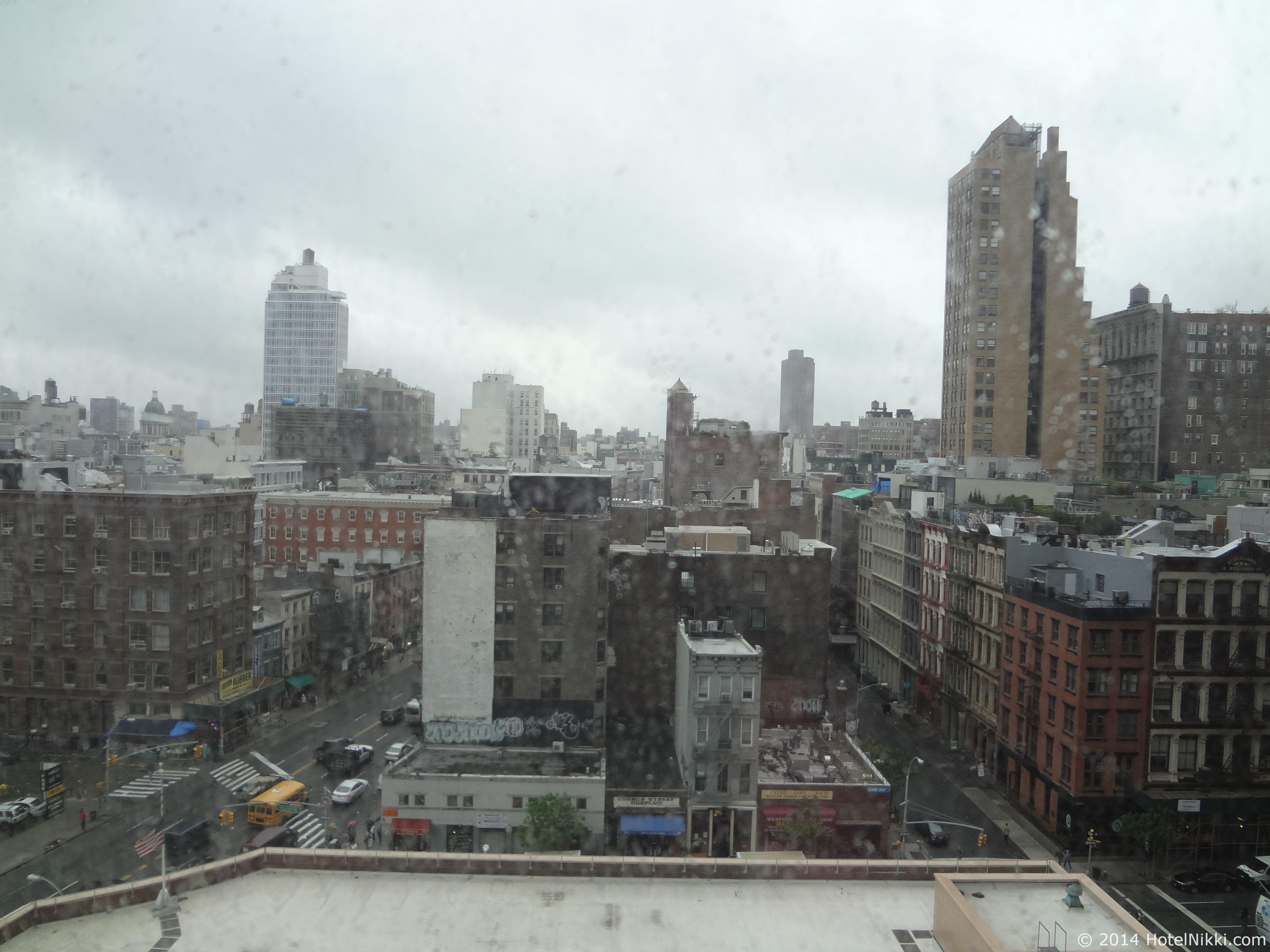 シェラトントライベッカニューヨークホテル 窓からの眺め