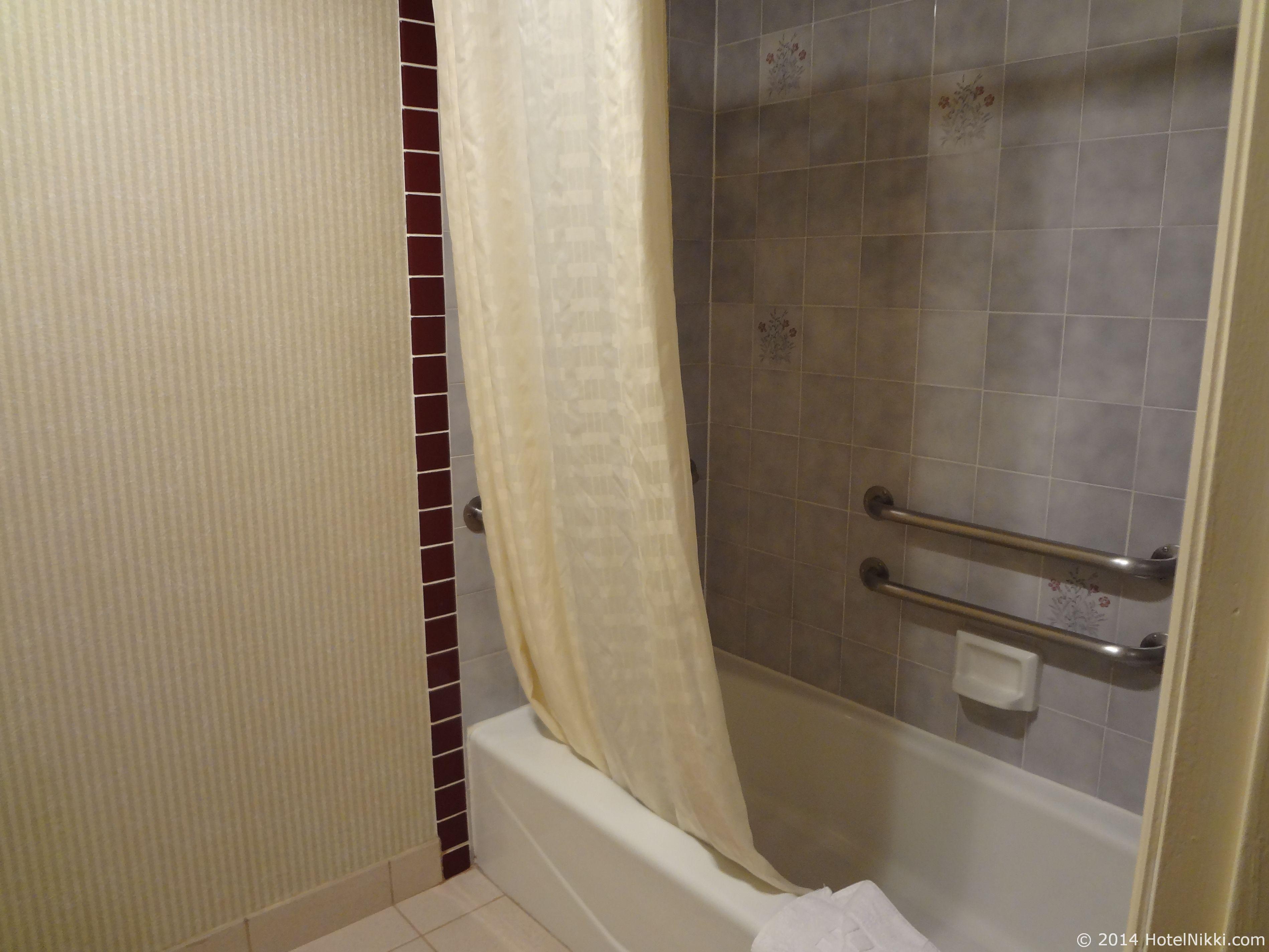 ベストウェスタンカントリーイン バスルーム