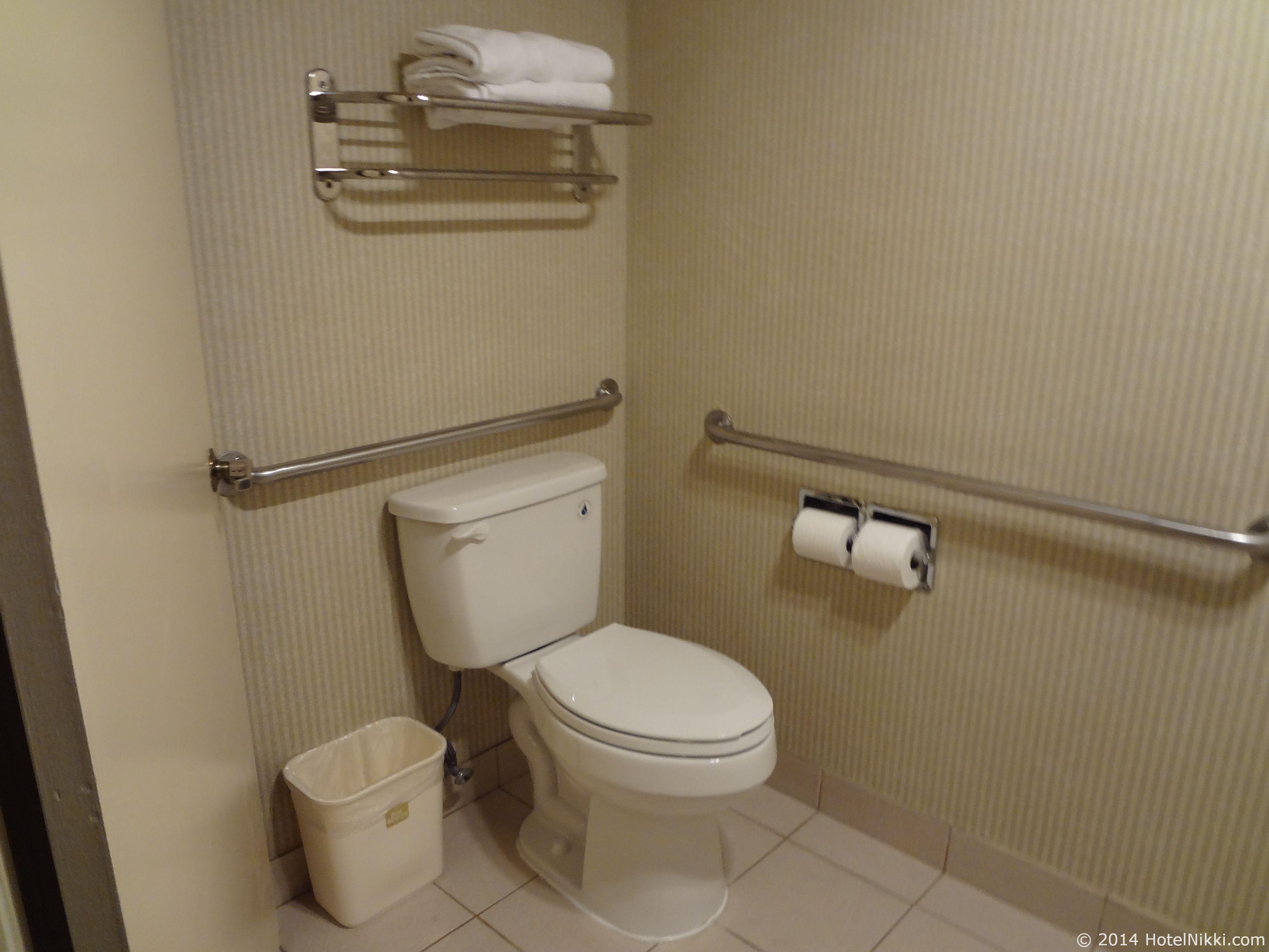 ベストウェスタンカントリーイン トイレ