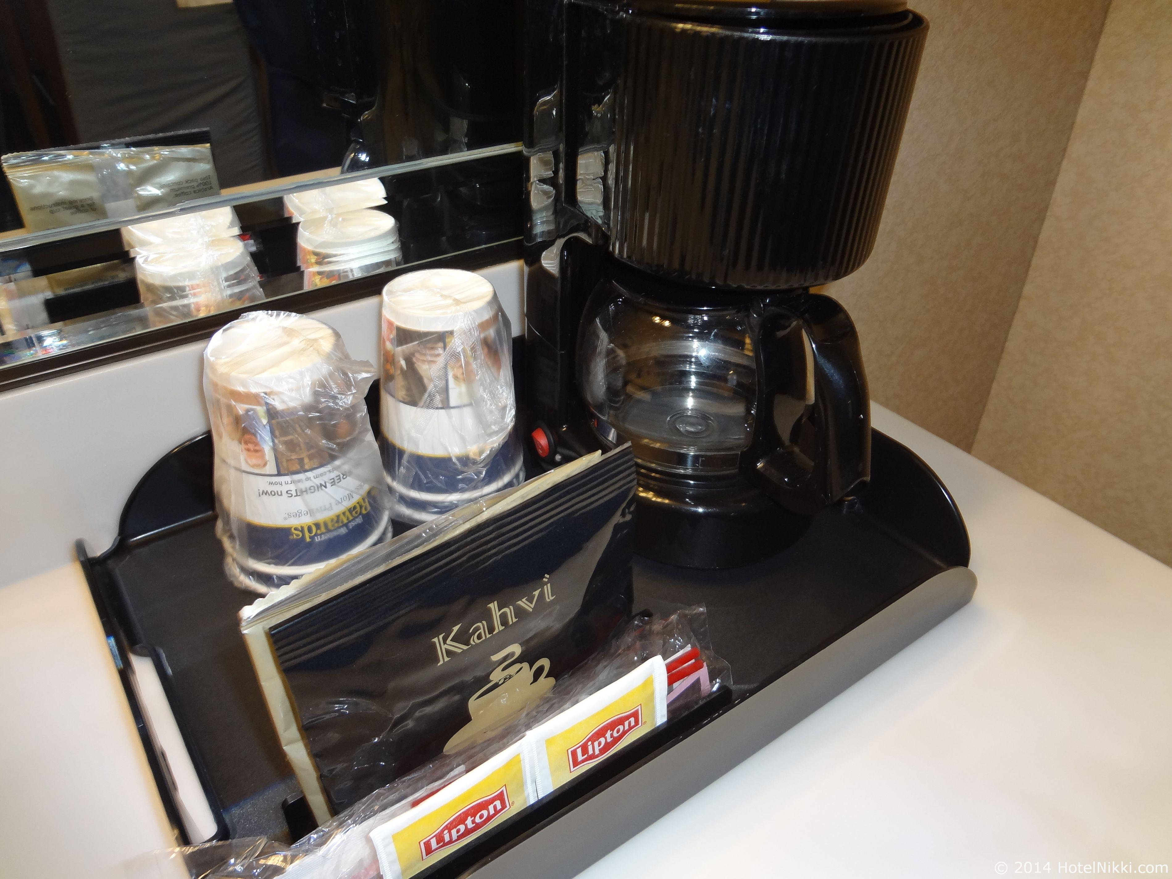ベストウェスタンカントリーイン コーヒーメーカー