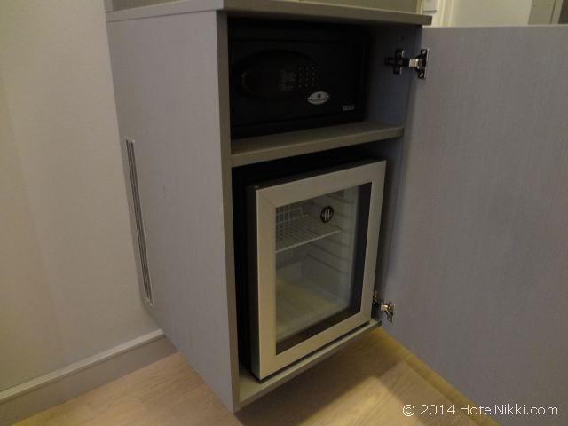 スカンディックホテル・ビポルテン 金庫と冷蔵庫