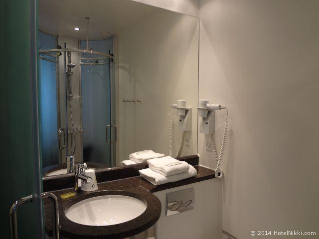 ウェイクアップコペンハーゲンボーガーゲード バスルーム
