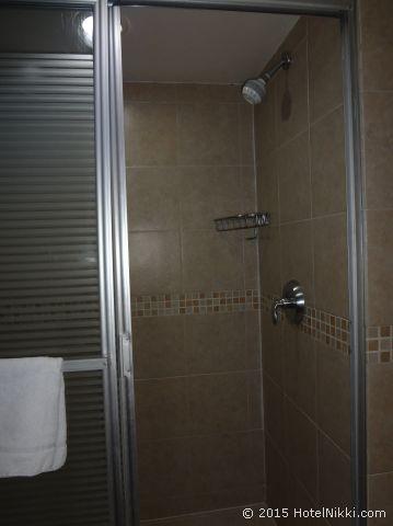 ハンプトン イン & スイーツ シウダー デ メキシコ - セントロ ヒストリコ、バスルームはシャワーのみ