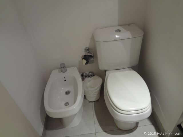 ユニーク パラシオ サン テルモ ホテル ブエノスアイレス、トイレはビデつき