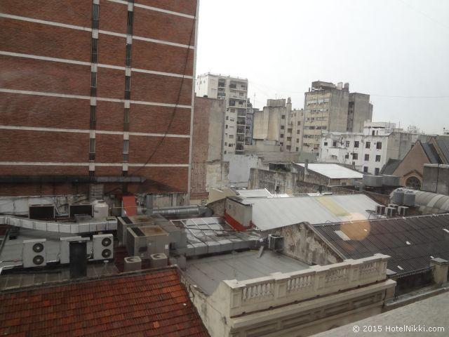 ユニーク パラシオ サン テルモ ホテル ブエノスアイレス、窓からの景色