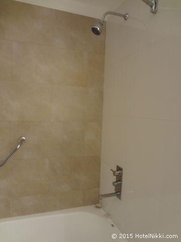 ホリデイ・イン ブエノスアイレス エセイサ エアポート、シャワーは固定式です
