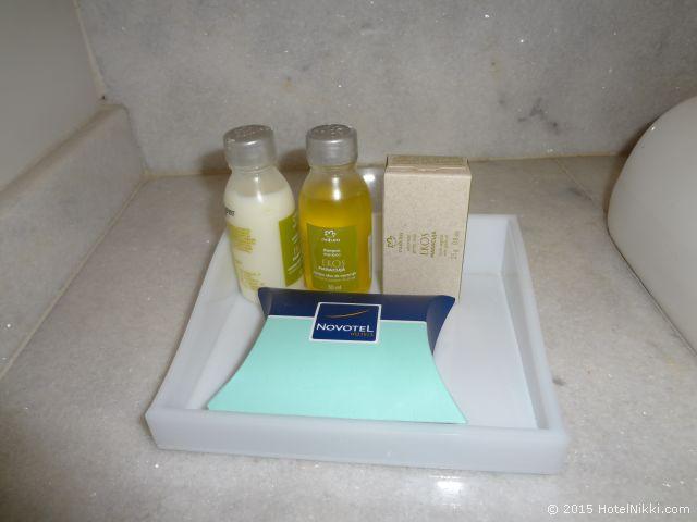 ノボテル ジャラグア サンパウロ コンベンション ホテル、バスアメニティはNatura EkosのMaracuja Oilのもの