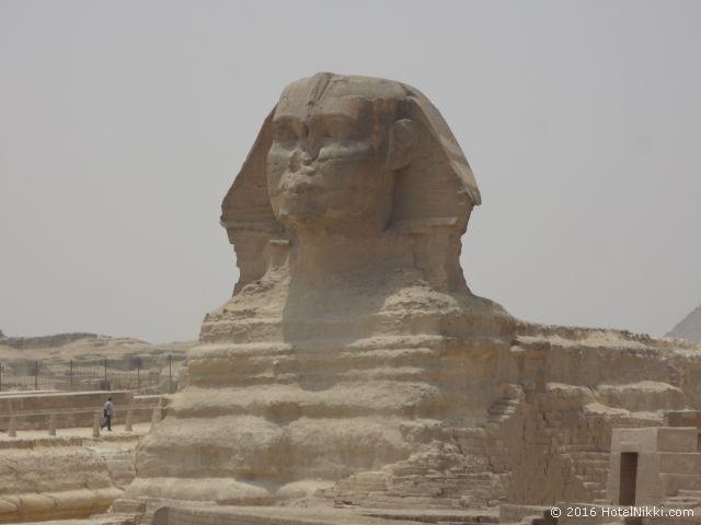 行ってみてよかった世界遺産 TOP 10 エジプト・ギザのスフィンクス (2015年5月撮影)