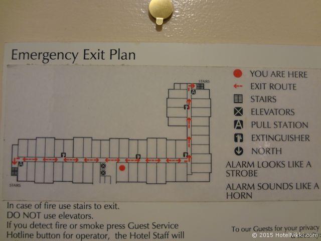 ヒルトン ガーデン イン パームスプリングス - ランチョ ミラージュ、ホテルの部屋配置図