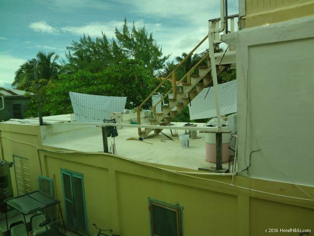 ベリーズ・キーカーカーのキーカーカープラザホテル、部屋からの景色