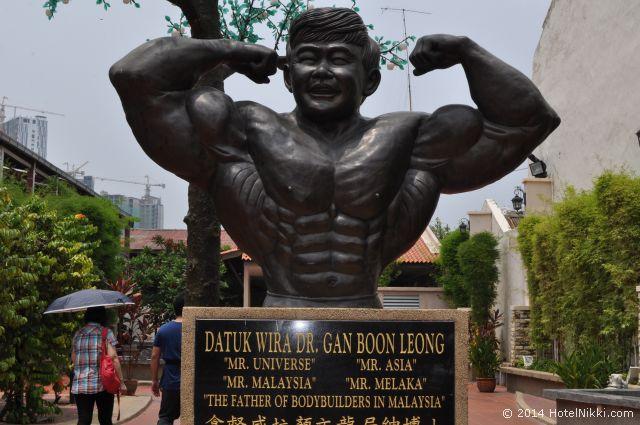 マレーシア・マラッカ、ジョンカー周辺 マラッカで有名な銅像