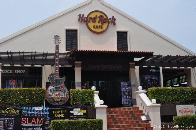 マラッカ写真旅行記2014年3月 リバーサイドにあるハードロックカフェ