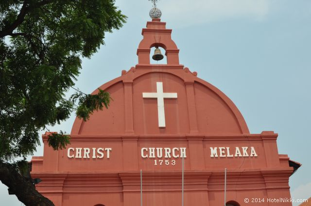 マラッカ写真旅行記2014年3月 キリスト教会